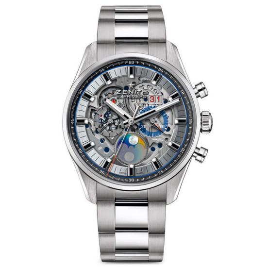 New Zenith Chronomaster El Primero Grande Date Full Open on Bracelet