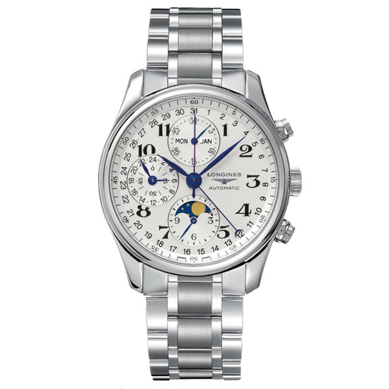 New Longines Master Collection Triple Calendar Chronograph on Bracelet