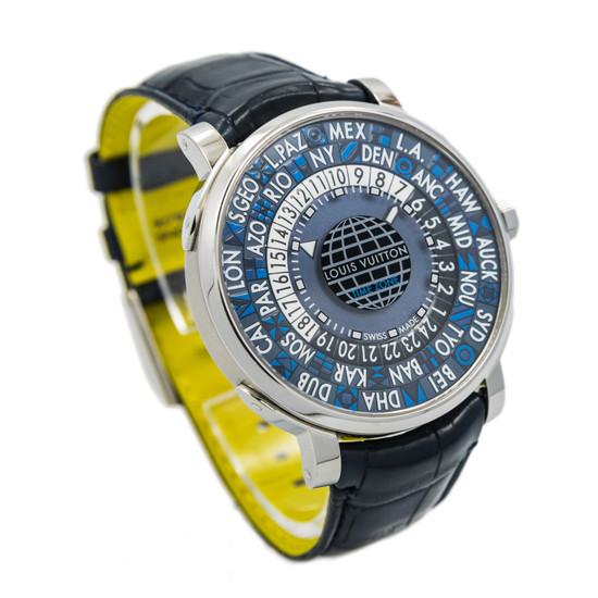 Louis Vuitton Escale Time Zone Blue Dial