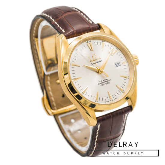 Omega Aqua Terra Co-Axial Yellow Gold *Rare*