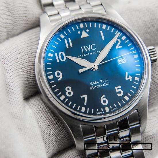 IWC Mark XVIII Le Petit Prince Blue Dial