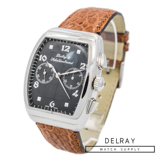 Dubey and Schaldenbrand G. Dubey Column Wheel Chronograph Black Dial *Limited Edition* *UNWORN*