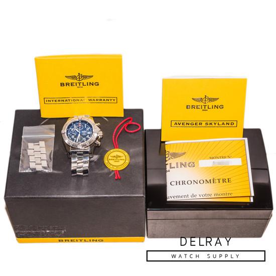 Breitling Avenger Skyland Blue Dial
