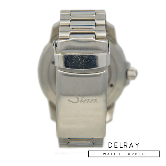 Sinn 104 White Dial On Bracelet *2019 Box and Papers*