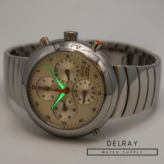 Ikepod Hemipode Silver GMT Chronograph *Rare*