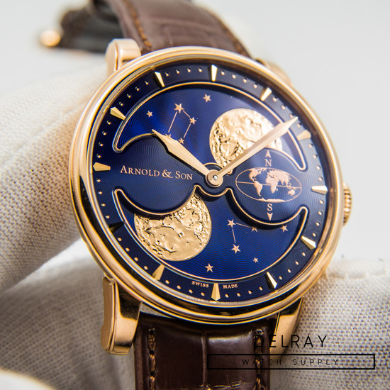 Arnold & Son Double Hemisphere Perpetual Moon *UNWORN* *ON SPECIAL*