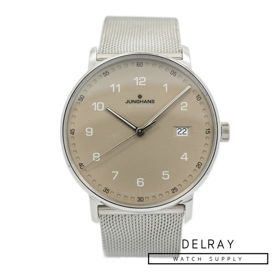 Junghans Form A Taupe Dial *UNWORN* *ON SPECIAL*