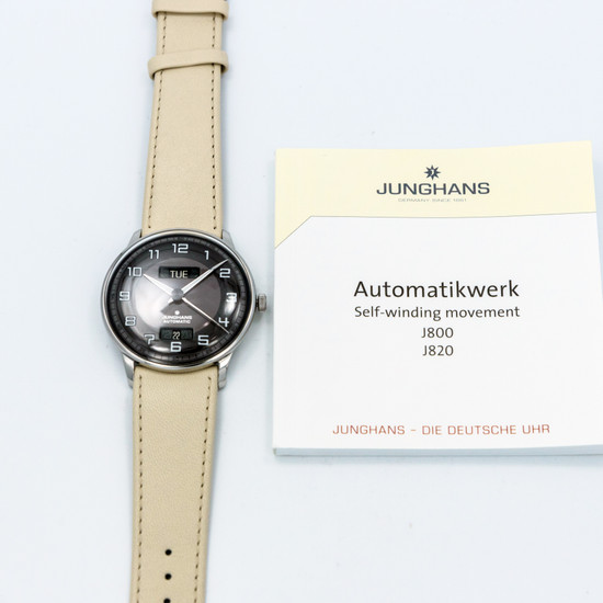 Junghans Meister Driver Day Date *UNWORN* *ON SPECIAL*