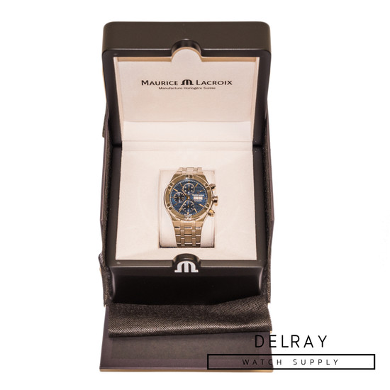 Maurice Lacroix Aikon Automatic Chronograph Blue Dial *Store Display*