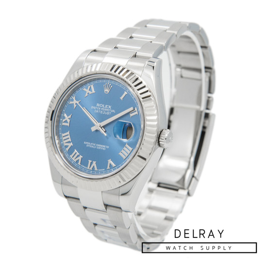 Rolex Datejust II Blue Dial 116334