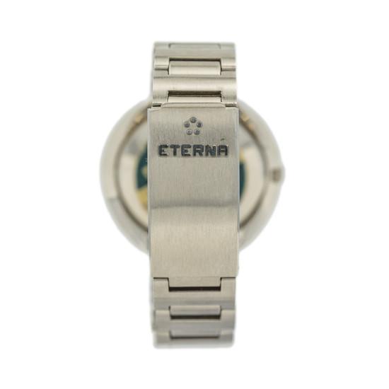 Eterna-Matic Anatomic Sevenday Dark Blue Dial