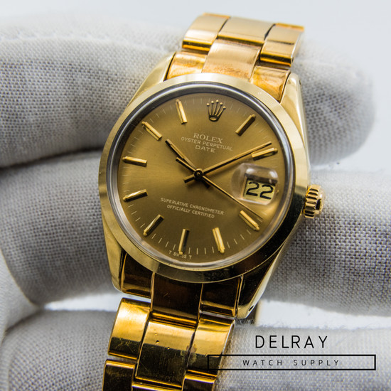 Rolex Oyster Perpetual Date Reference 1550
