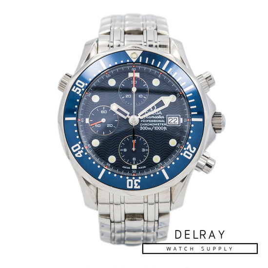 Omega Seamaster Professional 300M Chronograph Diver