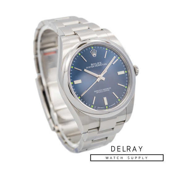 Rolex Oyster Perpetual 114300 *Blue Dial*