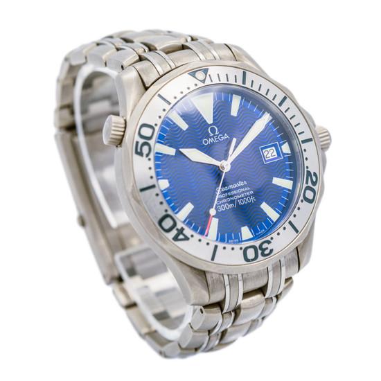 Omega Seamaster Professional *Titanium Blue Dial* *ON SPECIAL*