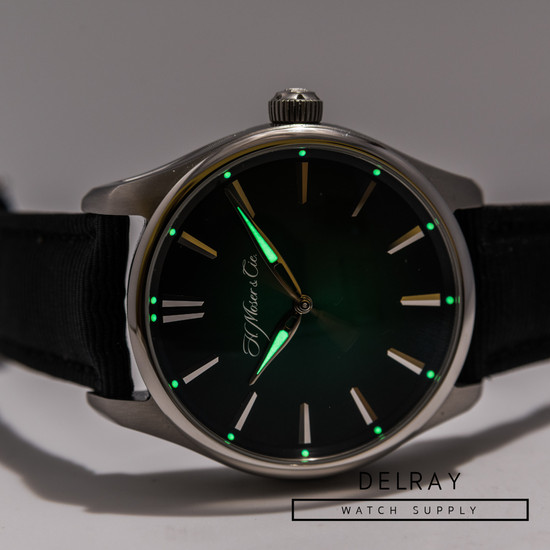 H Moser Pioneer Centre Seconds, Cosmic Green Fumé *2020*