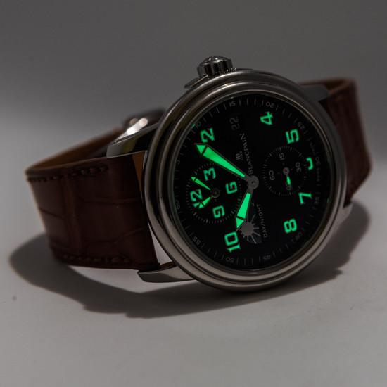 Blancpain Leman Timezone