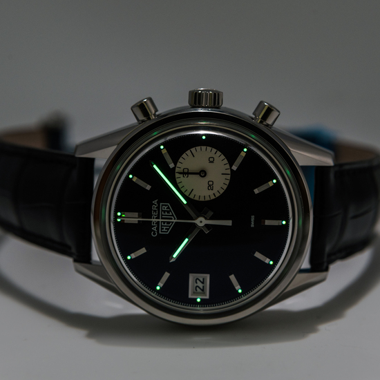TAG Heuer Carrera Dato 45 x Hodinkee *Limited Edition* *UNWORN* *ON SPECIAL*