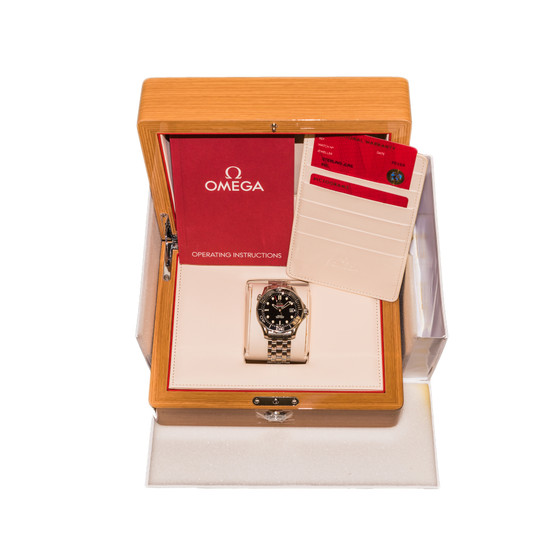 Omega Seamaster Diver 300M Co-Axial Chronometer *Box and Papers*