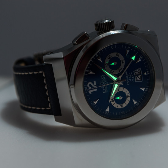 European Company Watch Panhard XL GMT Chronograph *Store Display*
