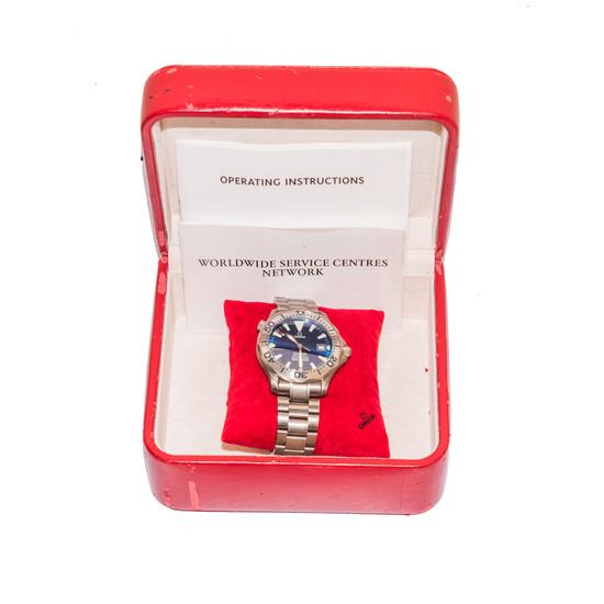Omega Seamaster 300 M Chronometer *Titanium* *Blue Dial*