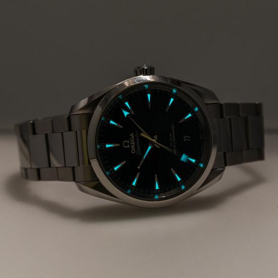 Omega Seamaster 150M Aqua Terra *Blue Dial*