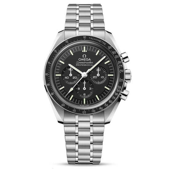 New Omega Speedmaster Moonwatch Professional Co-Axial Sapphire on Bracelet