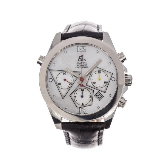 Jacob & Co. Automatic Chronograph *MOP Dial* *Store Display*