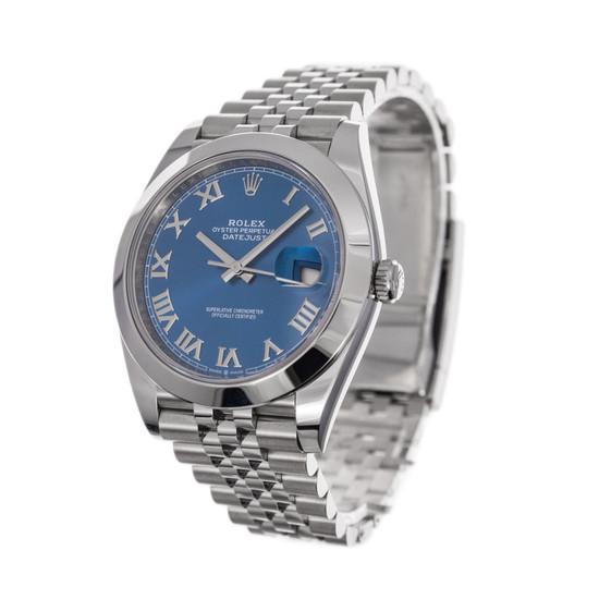 Rolex Datejust 41 126300 *2020* *Blue Dial*
