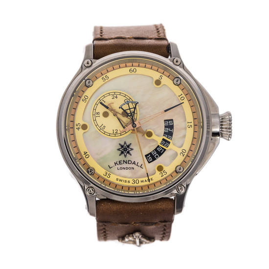 L. Kendall K7 Large Date K7-004A *MOP Dial*