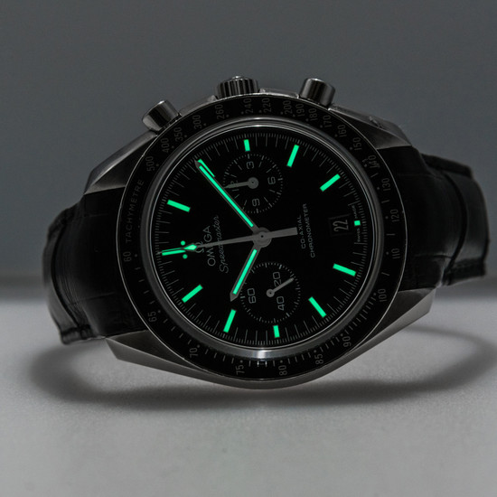 Omega Speedmaster Two Counters Co-Axial Chronometer Chronograph