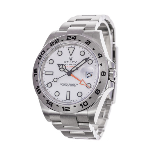 Rolex Explorer II 216570 *Polar* *UNWORN* *Wire Only*