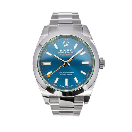 Rolex Milgauss 116400GV *Blue Dial* *UNWORN* *2021* *Wire Only*