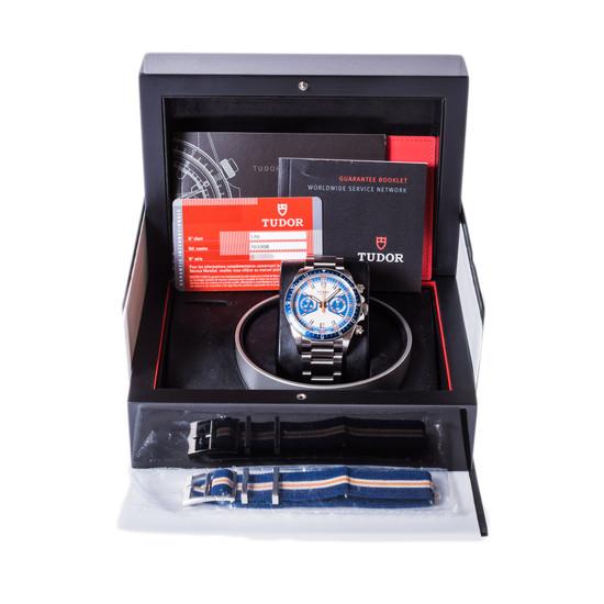 Tudor Heritage Chrono Blue 70330B