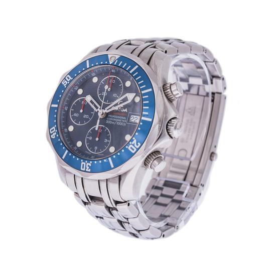 Omega Seamaster Diver 300M Chronograph *Blue Dial*