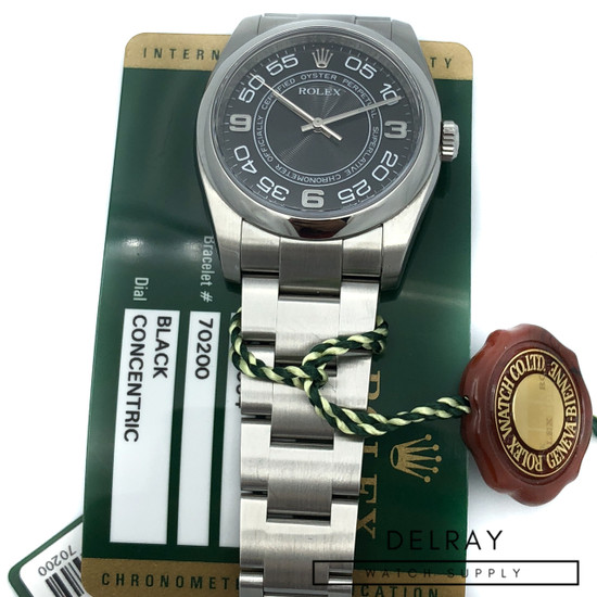 Rolex Oyster Perpetual 116000 Concentric Dial
