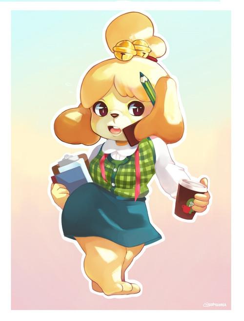 Isabelle Print