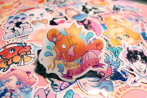 """Priceless"" Magikarp Sticker"