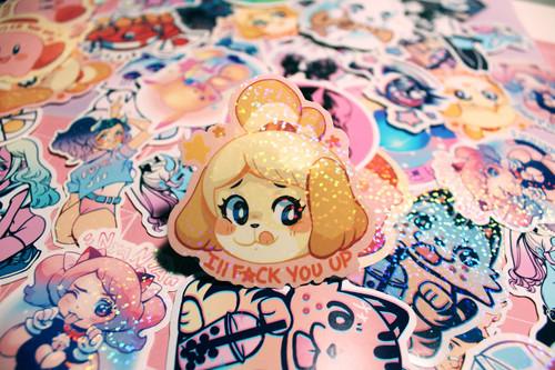 Isabelle Sparkle Sticker
