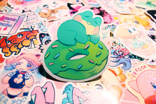DonutFrog Sticker