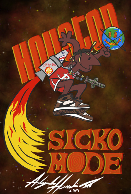 Sicko Mode Poster
