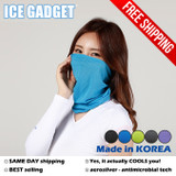 [2 pack] Cooling Neck Gaiter Face Mask