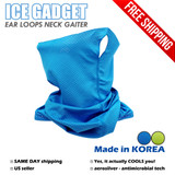 *Ear Loops* Cooling Neck Gaiter Sports Face Mask