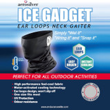 *Ear Loops* Cooling Neck Gaiter Face Mask