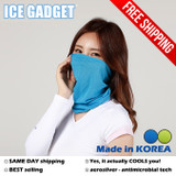 *XLarge* Cooling Neck Gaiter Sports Face Mask