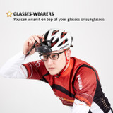 [2 Lens Pack] Winbees Sports Sunglasses/Goggle, Attachable Helmet Sunglasses Over Eyeglasses For Any Helmet Sports