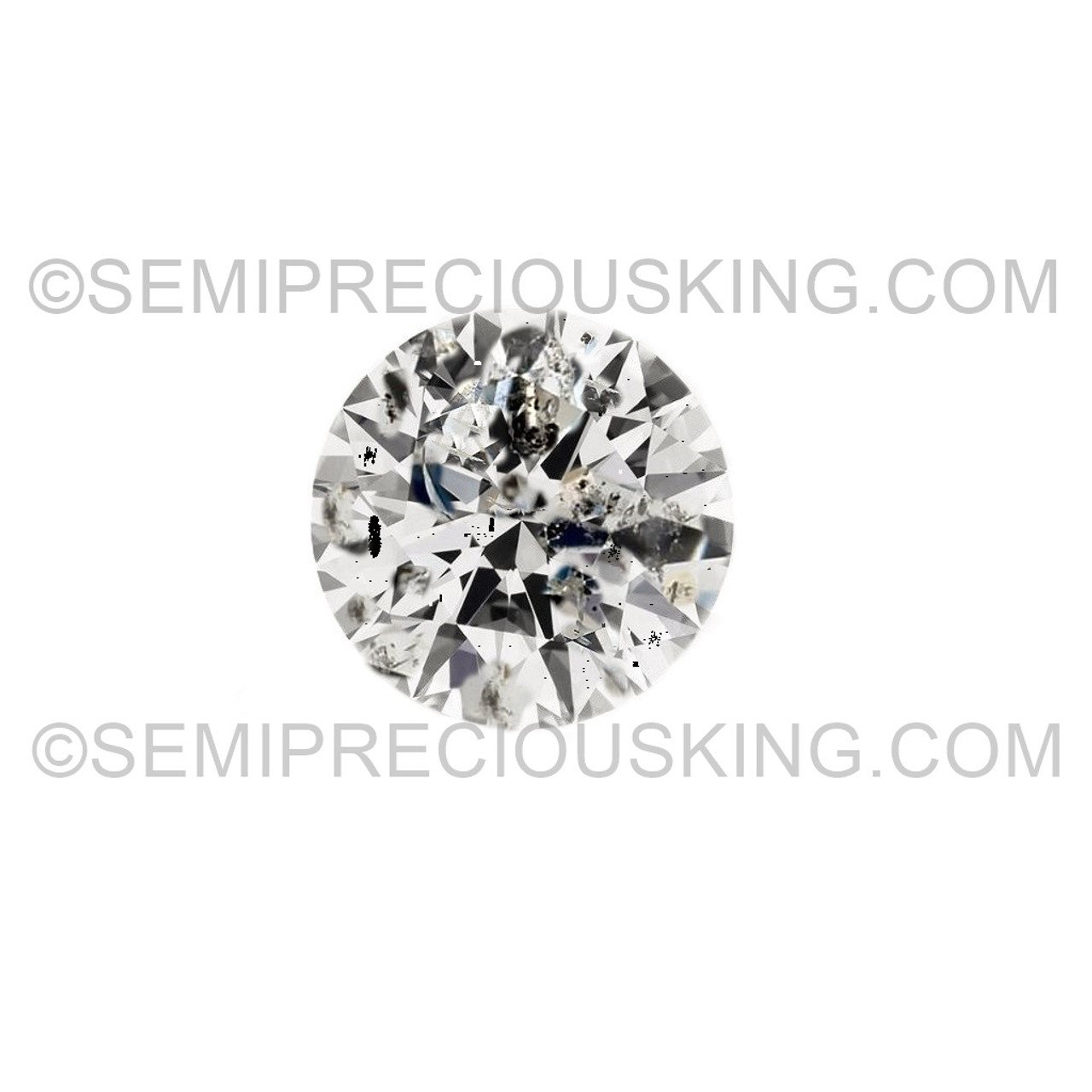 Very small Size White G Color VVS  2 mm To 2.1mm Round Cut Loose Moissanite Lot