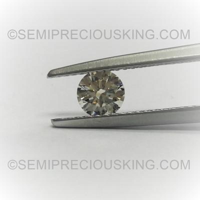 5 mm Round Brilliant Cut 0.51 Carat Solitaire DEF Color Genuine Loose Diamond