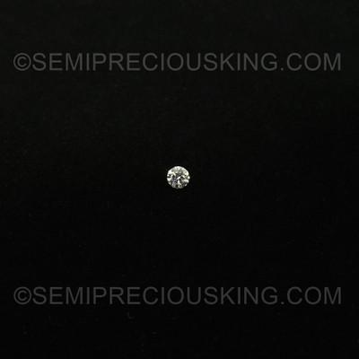 Loose Diamond Engagement Ring 5 mm Round Brilliant Cut 0.51 Carat
