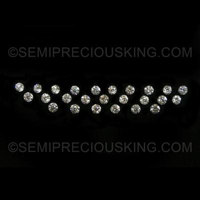 3.50 mm Round Brilliant Excellent Cut 0.184 Carats Genuine Diamonds VS Clarity DEF Color Loose Diamond Wholesaler